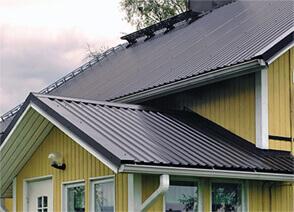 Профнастил и металлочерепица дляк крыши и стен