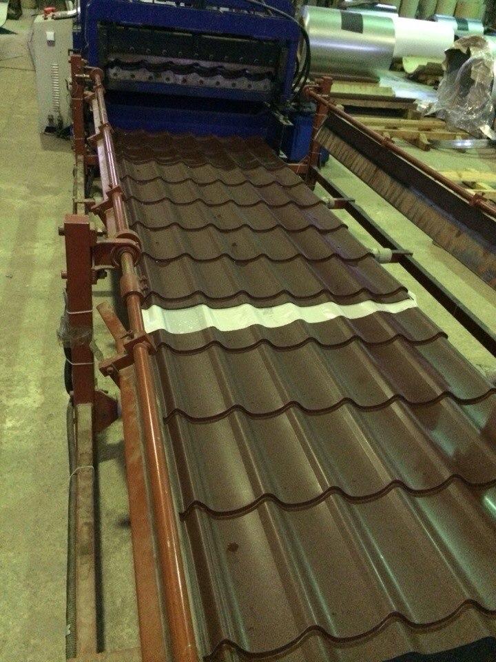 Производство металлочерепицы в Одессе